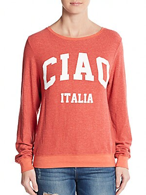 Ciao Graphic Sweatshirt
