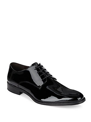 Patent Leather Bluchers