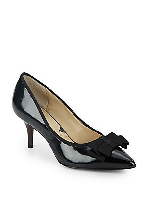 Selby Bow Patent Leather Pumps