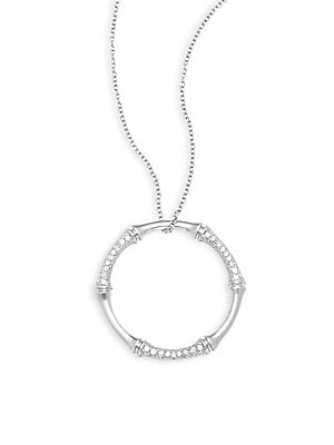 Click here for Zhuli Diamond & 14K White Gold Pendant Necklace prices