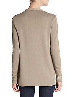 Sarena Mixed-Media Jacket