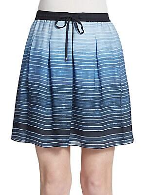 Silk Ombr? Skirt