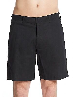Abe Linen & Cotton Shorts