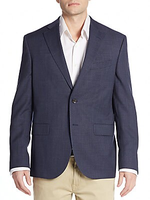 Regular-Fit Wool Two-Button Sportcoat