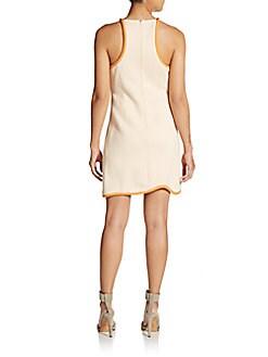 Jacquard Racerback Sheath Dress