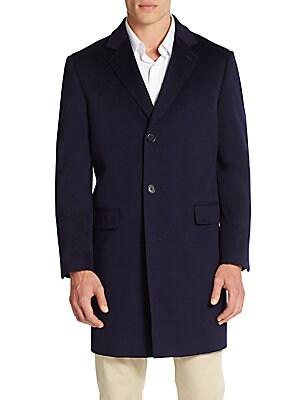 Classic-Fit Wool Coat