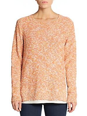 Bate Marled-Knit Sweater