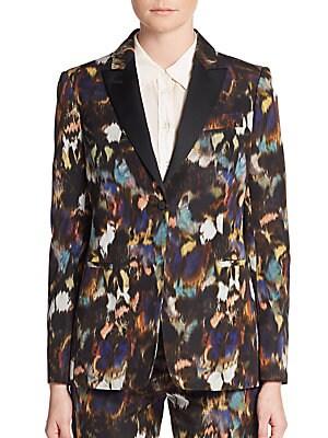 Cotton & Silk Ikat Jacket