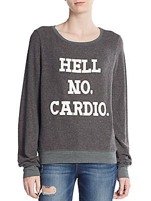No Cardio Sweatshirt