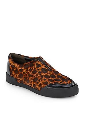 Morgan Calf Hair Sneakers