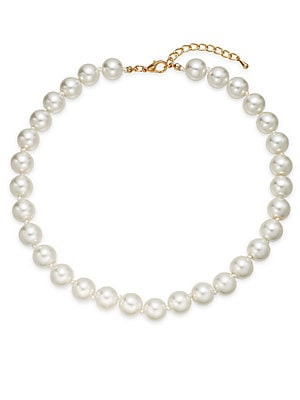 12MM Simulated Pearl Necklace/16