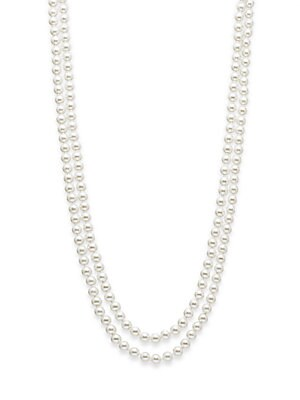 8MM Simulated Pearl Necklace/72
