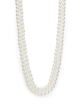 8MM Simulated Pearl Necklace/48