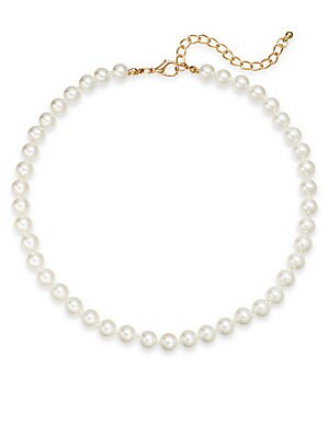 8MM Simulated Pearl Necklace/16