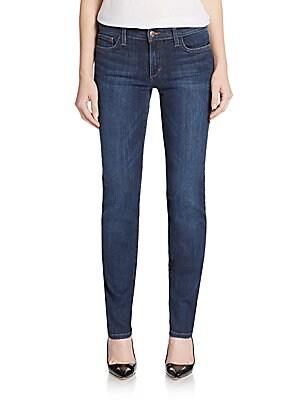 Cigarette Five-Pocket Jeans