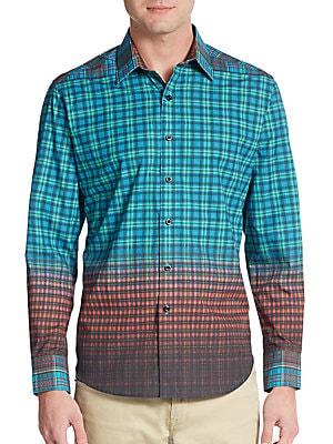 Classic-Fit Avebury Cotton Sportshirt