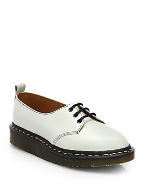 Commes des Garcons X Dr. Martens Leather Loafers