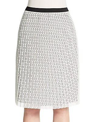 Jacinthe Laser-Cut Skirt