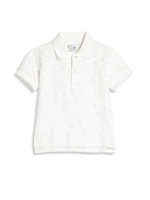 Baby's Basic Knit Pique Polo Shirt