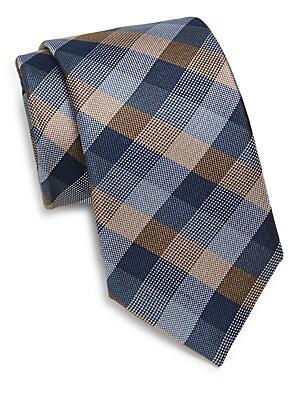 Silk Tri-Color Tie