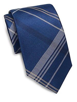Silk Plaid Tie