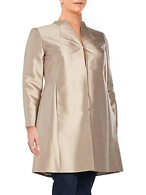 Lucetta Cotton & Silk Coat