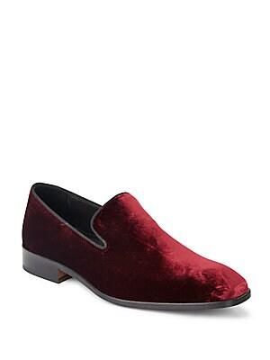 Velvet Smoking Shoes