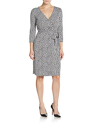 New Julian Silk-Jersey Wrap Dress
