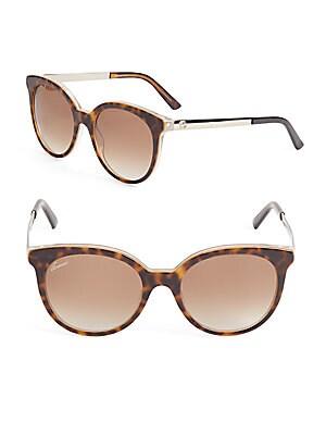 53MM Cat-Eye Sunglasses