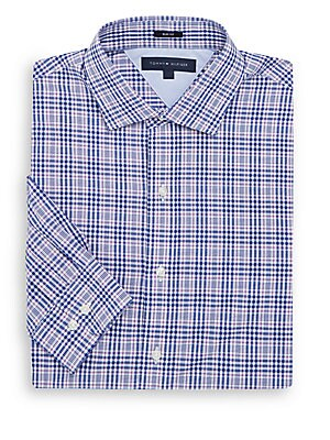 Plaid Slim Fit Shirt