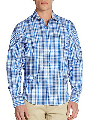 Checked Cotton Sportshirt