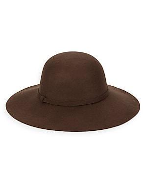 Floppy Wool-Felt Hat