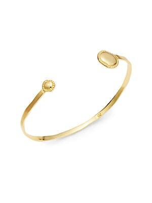 Marin 18K Goldplated Cuff Bracelet