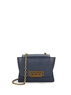 $79.99 ZAC Zac Posen Mini Eartha Leather Shoulder Bag