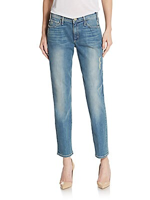 Mrs. Robinson Distressed Jeans
