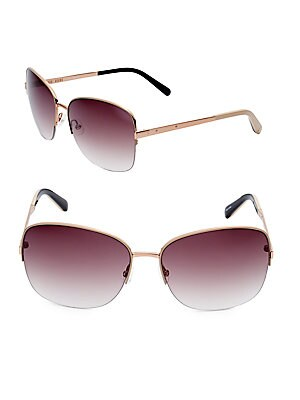 The Dutch 60MM Oversized Square Sunglasses