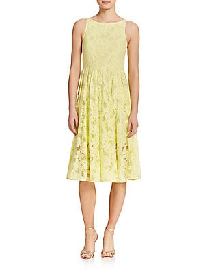 Jillian Lace Midi Dress