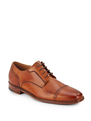 Giraldo Leather Wingtip Oxfords