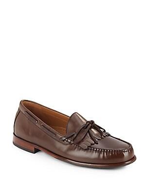 Fairmont Leather Moc-Toe Loafers