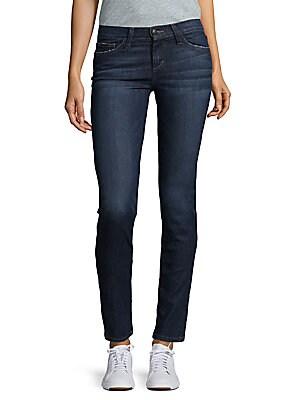 Cigarette Straight-Leg Fit Jeans
