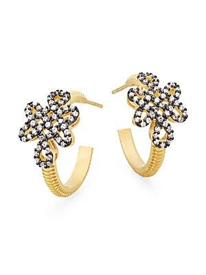 Love Knot Hoop Earrings/1