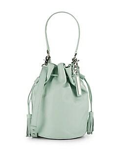 Industry Leather Bucket Bag