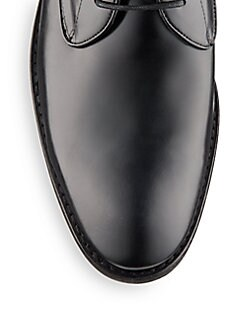 Hallowell Leather Oxfords
