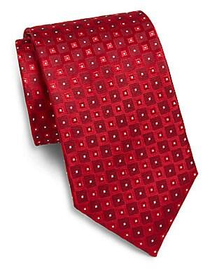 Square Neat Silk Tie & Gift Box