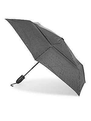 Foldable Polka Dot Umbrella