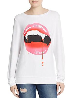 Lady Is A Vamp Graphic Sweatshirt