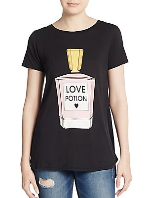 Love Potion Graphic Cotton Tee