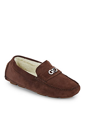 Shelby Suede Moccasins
