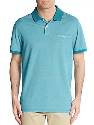 michael kors male  birdseye polo shirt