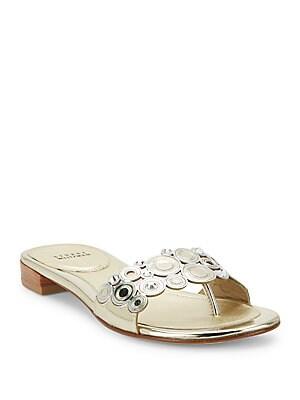Moonring Flat Slide Sandals